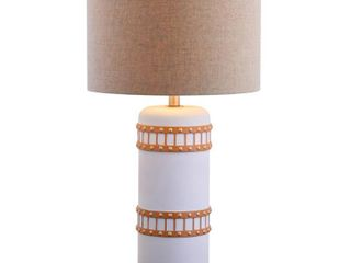 Fraser 31  Resin lED Table lamp  Gray Gold by JONATHAN Y