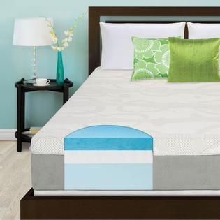 Slumber Solutions 12 inch Gel Memory Foam Choose Your Comfort Mattress
