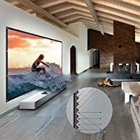 Nierbo 150 inch Metal Projector Screen Ambient light Rejecting Screen