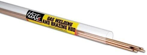 Hot Max 24002 3 32 inch By 36 inch Mild Steel Brazing Rods
