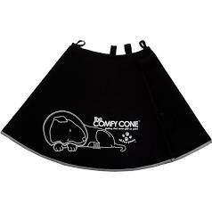 The Comfy Cone Pet Recovery Collar By All Four Paws Extra large Xl Black