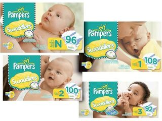 Pampers   Swaddlers Super Pack  Size 1