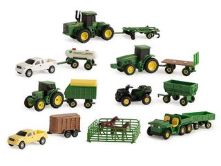 TOMY John Deere Vehicle Value Set 1 64 Scale