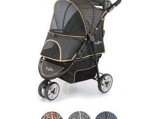 "Gen7Pet Promenade Dog & Cat Stroller - 37""L x 20""W - Gold Nugget"