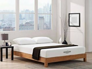 Aveline 8-inch Gel Memory Foam Mattress - White- Retail:$237.49