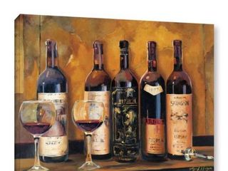 ArtWall Marilyn Hageman's Cellar Reds, Gallery Wrapped Canvas - 24x32