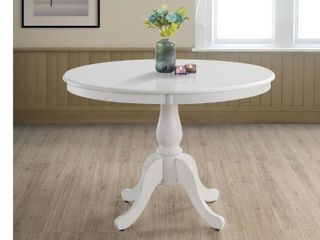 Copper Grove Parnasuss Round Pedestal Dining Table