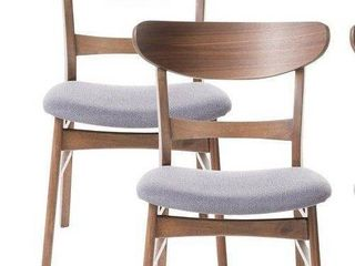 Idalia Mid-Century Modern Dining Chairs (Set of 2) by Christopher Knight Home