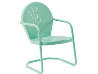 Griffith Metal Chair In Aqua