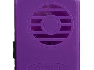 O2COOl FN02001 Deluxe Necklace  Purple Personal Fan  Universal