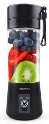 Portable Blender  Personal Size Blender Shakes and Smoothies Mini Jucier Cup USB Rechargeable Battery Strong Power Ice Blender Mixer Home Office Sports Travel Outdoors