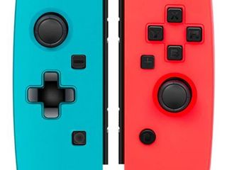 Joy Con Controller Replacement for Nintendo Switch KINGEAR  l R  Joy Pad Controller Compatible with Nintendo Switch Console Remote Gamepad for Nintendo Switch Joy Con   Red and Blue