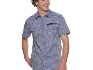 Men's Urban Pipeline Button-Down Shirt, Size: XXL, Blue