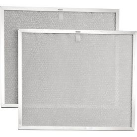 Broan BPS2FA30 Replacement Filters for 30 Inch QS2 and WS2 Range Hoods  Aluminum  2 Pack
