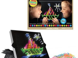 Basic Fun lite Brite Ultimate Classic Retro Toy  Gift for Girls and Boys  Ages 4  Multicolor