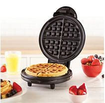 Dash DEWM8100BK Express Waffle Maker Machine for Individual Servings  Paninis  Hash browns   other on the go Breakfast  lunch  or Snacks  with Easy Clean  Non Stick Sides  Black