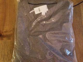 Banana Republic Womens Mixed Stitch Turtleneck Sweater Size L - Gray