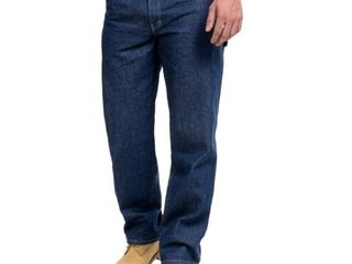 Denim Carpenter Jeans   Relaxed Fit  For Men    INDIGO   SIZE 38X30