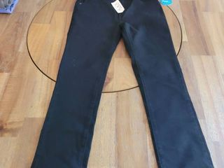 CHIlDREN PlACE STRETCH SUPER SKINNY BlACK JEANS SIZE 8