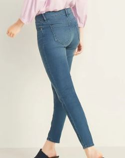 CHIlDREN PlACE STRETCH SUPER SKINNY JEANS SIZE 8