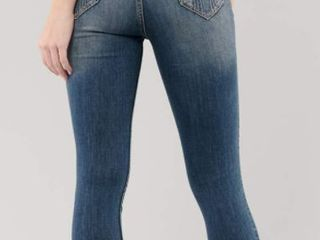 HOllISTER HIGH RISE SUPER SKINNY JEANS SIZE W27 l32