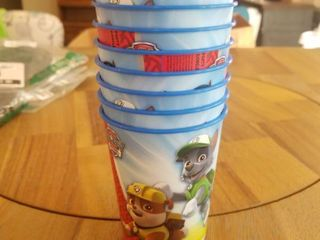 American Greetings Paw Patrol Plastic Cups for Kids  8 Count
