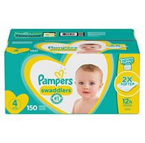 Pampers Swaddlers Soft and Absorbent Diapers  Size 4  150 Ct