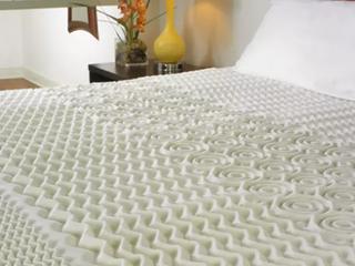 Blue Foam Mattress Topper 2 in Thick 58 x78