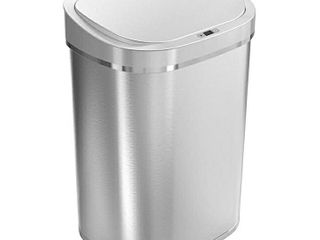 Ninestars Dzt 80 35 Automatic Touchless Infrared Motion Sensor Trash Can  21 Gal