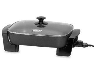 Delonghi 1500W Nonstick Electric Skillet   Black BG45