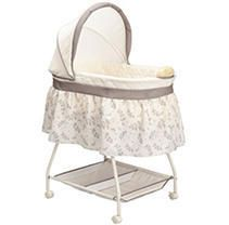 Delta Children Products Sweet Beginnings Bassinet  Falling leaves