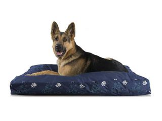 Furhaven Paw Gusset Deluxe Pet Bed