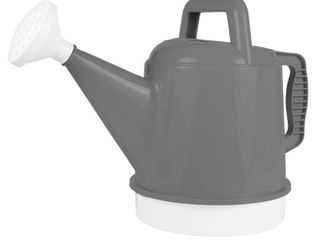 2 5gal Deluxe Watering Can Charcoal   Bloem