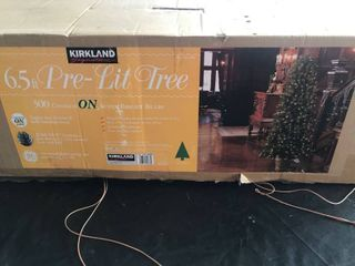 Kirkland 6 5ft Pre lit Christmas Tree