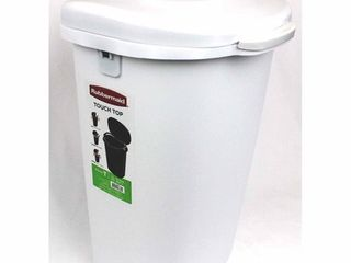 Rubbermaid Cleverstore White 71 Quart Non latching  White