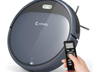 Coredy Robot Vacuum Cleaner  plugged in lights up and charges