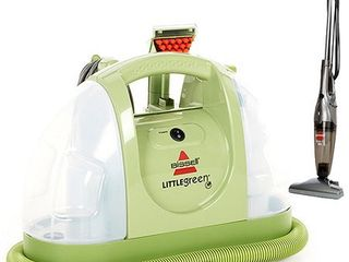 BISSEll little Green Multi Purpose Portable Carpet Cleaner  1400B