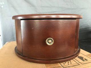Standalone Wooden Circular Drawer