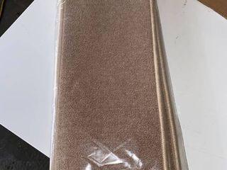 Ottomanson Non Slip Rubber Backing Stair Tread  Dark Beige  8 5  X 26
