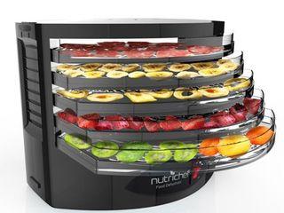 Pyle Plye Food Dehydrator - Electric Kitchen Dehydrator, Black