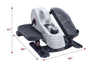 Sunny Health   Fitness Fully Assembled Magnetic Under Desk Elliptical