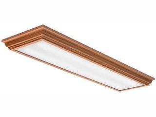 lithonia lighting FMFl 30840 CAMl OA lED linear light  4  Oak Brown
