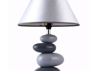 All The Rages grey table lamp
