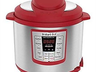 Instant Pot lux 1000W Electric Pressure Cooker with Accessories   Red
