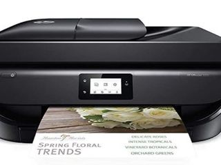 HP OfficeJet 5255 Wireless All in One Printer  HP Instant Ink  Works with Alexa  M2U75A  Black