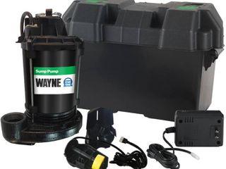 WAYNE ESP25 12 Volt Battery Backup Sump System