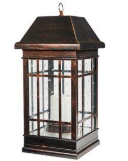 San Rafael Estate Solar lantern  Antique Bronze