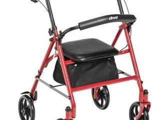 Drive Rollator Red