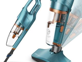 Deerma DX900 Portable Steel Filter Vacuum Cleaner   Macaw Blue Green Chinese Plug  2 pin