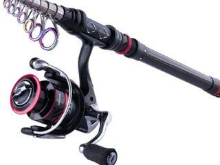 Goture AQUILA Fishing Reel Rod Combo 1.8M 3.6M Carbon Fiber